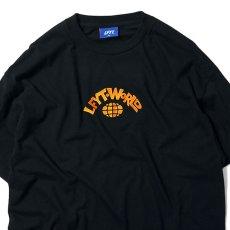 画像2: World S/S Tee ワールド 半袖 Tシャツ Black (2)