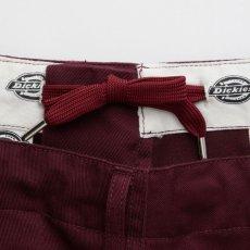 画像4: × Dickies Biggies Wide Chino Pants ディッキーズ ワイド チノ タイプ パンツ シルエット Wine Red (4)