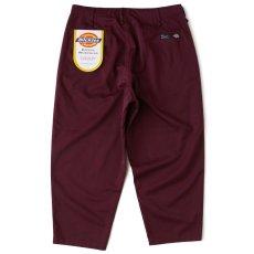 画像1: × Dickies Biggies Wide Chino Pants ディッキーズ ワイド チノ タイプ パンツ シルエット Wine Red (1)