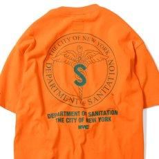 画像5: X DSNY Community Services S/S Tee 半袖 Tシャツ デイーエスエヌワイ Orange (5)