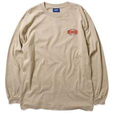画像2: Ignition Logo L/S Tee 長袖 Tシャツ Sand (2)