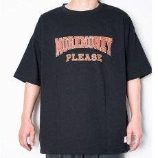 画像3: Mo Money S/S Heavyweight Tee 半袖 Tシャツ Black (3)
