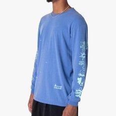 画像5: Frozen Goods Full Throttle L/S Tee 長袖 Tシャツ Blue (5)