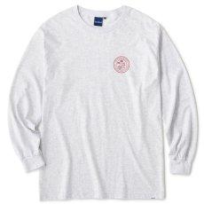画像2: Get Bill L/S Tee 長袖 Tシャツ Ash Gray (2)