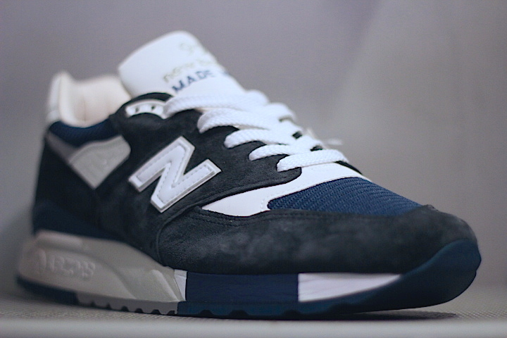 100% authentic 95821 1d402 New Balance(ニューバランス) For J Crew 998 Navy White ABZORB