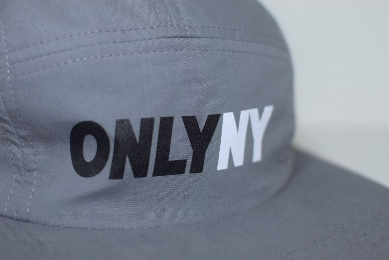 only ny オンリーニューヨーク competition 5 panel cap grey