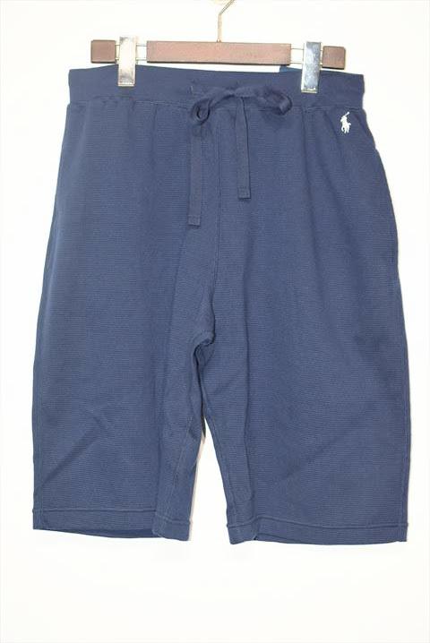 画像1: Polo Ralph Lauren(ポロ ラルフ ローレン) Thermal Sleep One Point Shorts Navy サーマル ショーツ (1)
