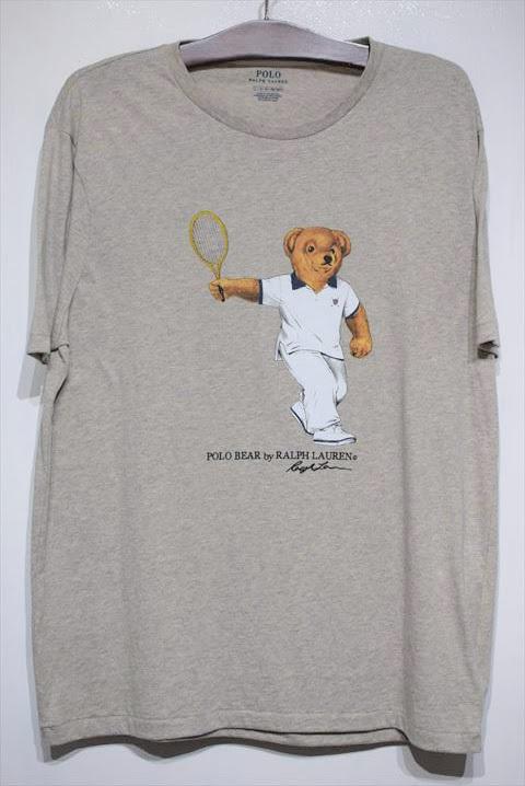 Polo Ralph Lauren ポロ ラルフ ローレン S S Polo Bear Tee Grey ポロ