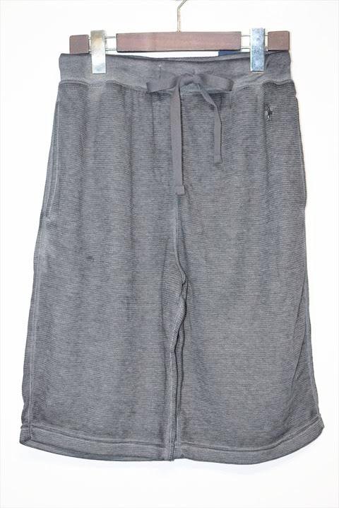 画像1: Polo Ralph Lauren(ポロ ラルフ ローレン) Thermal Sleep One Point Shorts Charcoal サーマル ショーツ (1)