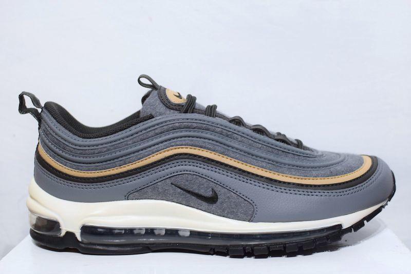 Nike(ナイキ) Air Max 97 Premium Wool Grey Sneaker Kicks スニーカー キックス 靴 エアマックス  ウール グレー