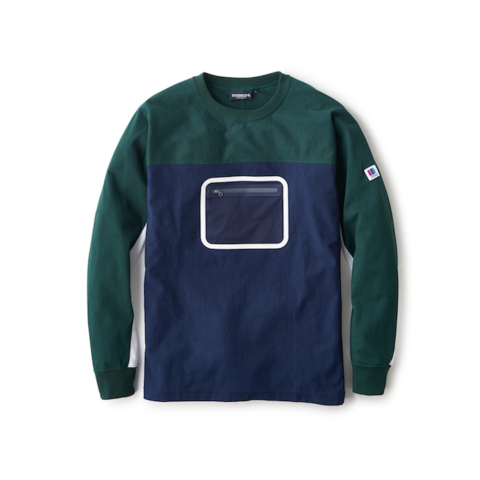 (NAVY) 【INTERBREED】 (インターブリード) SWITCHING RUGBY