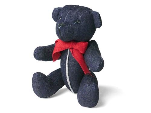 画像1: Interbreed(インターブリード) Selvedge Supply Indigo Teddy Bear テディベア (1)