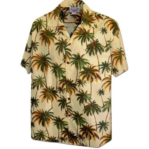 画像1: Pacific legend Aloha Shirts Allover Allover Maze アロハシャツ  (1)