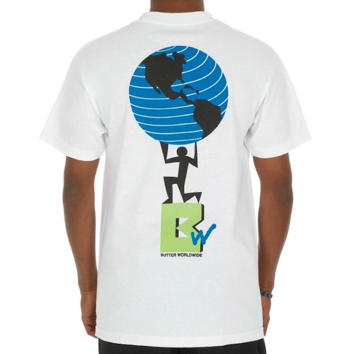 画像1: TV S/S Tee White ホワイト Tシャツ ロゴ Tシャツ 白 (1)