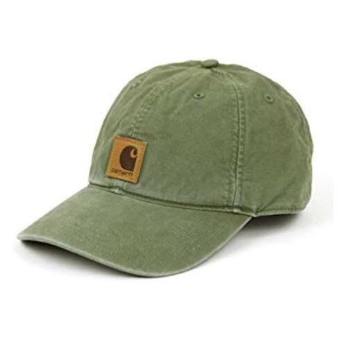 画像1: Carhartt (カーハート) Logo Cap Olive ロゴ キャップ (1)