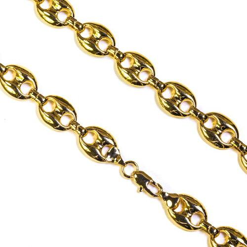画像1: Golden Gilt(ゴールデン・ギルト) Goocci Link Gold Necklace ネックレス ゴールド 65cm jewelry ジュエリー (1)