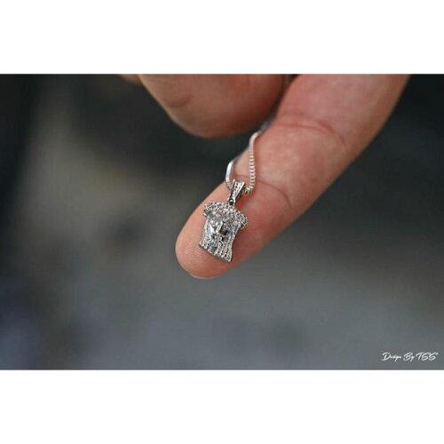 画像1: Extra Mini Jesus Chain Silver Necklace ネックレス シルバー 46cm 52cm 56cm 60cm jewelry ジーザス チェーン (1)