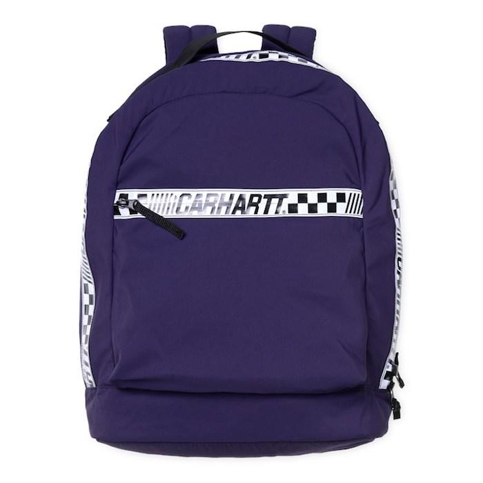 画像1: 【SALE】Senna Backpack Black Purple Lace 18.3liter 撥水加工 バックパック バッグ カバン 鞄 (1)