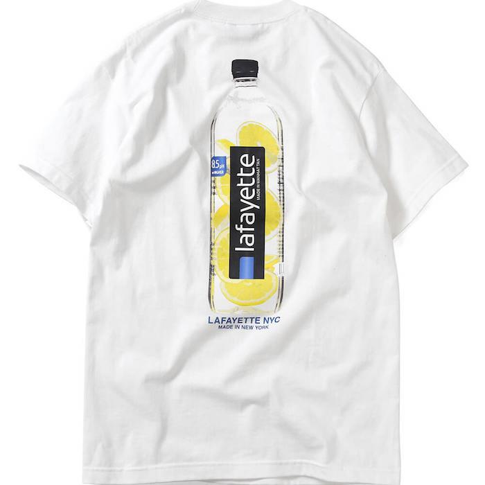 画像1: Lafayette(ラファイエット) Lemon Water S/S Tee White ホワイト 半袖 Tシャツ  (1)