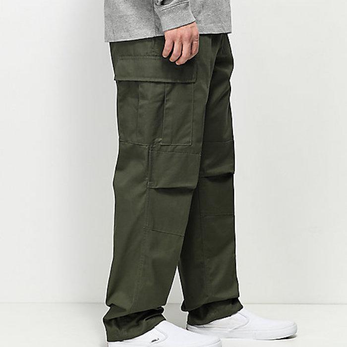 画像1: BDU Cargo Pants カーゴパンツ Olive オリーブ  Military Green ミリタリー グリーン (1)