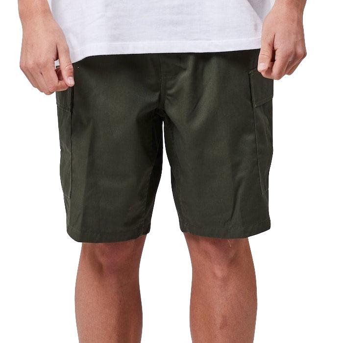 画像1: Military Cargo Shorts ミリタリー カーゴ ショーツ Olive (1)
