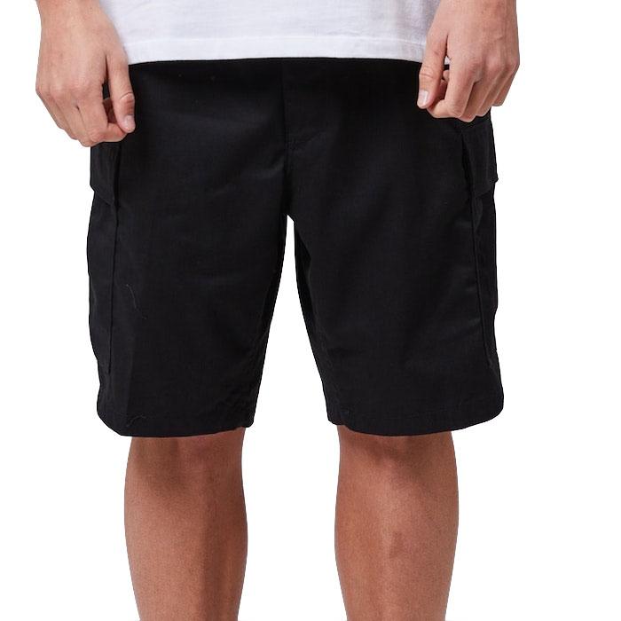 画像1: Military Cargo Shorts ミリタリー カーゴ ショーツ Black (1)