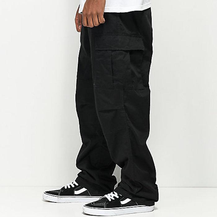 画像1: BDU Cargo Pants カーゴパンツ Black ブラック (1)