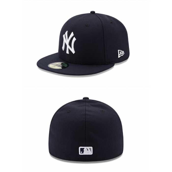 画像1: New Era(ニューエラ)59Fifty NewYork Yankees baseball cap ニューヨーク ヤンキース Authentic Classic オーセンティック クラシック MLB 公式 Official (1)