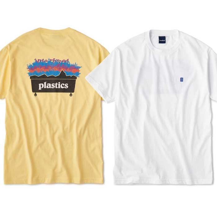 画像1: Plastic S/S Tee プラスティック Tシャツ White Pale Yellow (1)