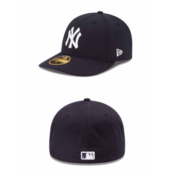 画像1: New Era(ニューエラ)LP 59Fifty New York Yankees cap MLB ニューヨーク・ヤンキース ゲーム オンフィールド Classic クラシック MLB 公式 Official (1)