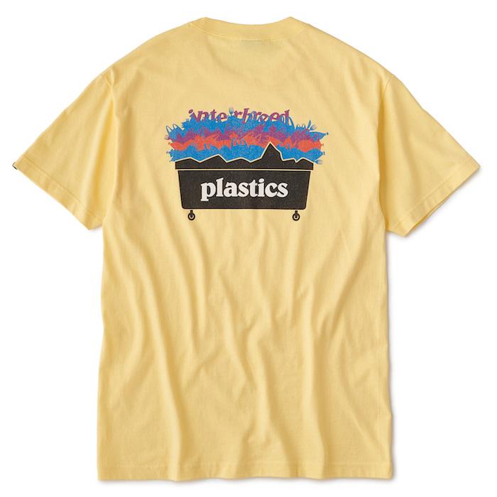画像1: Interbreed(インターブリード) Plastic S/S Tee プラスティック Tシャツ Pale Yellow White (1)