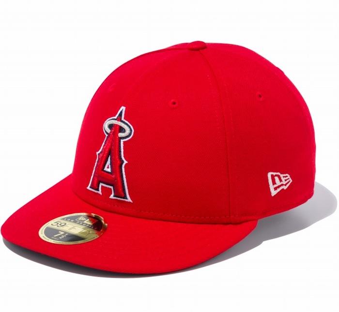 画像1: LP 59Fifty Los Angeles Angels Cap MLB ロサンゼルス・エンゼルス ゲーム オンフィールド Classic クラシック MLB 公式 Official (1)