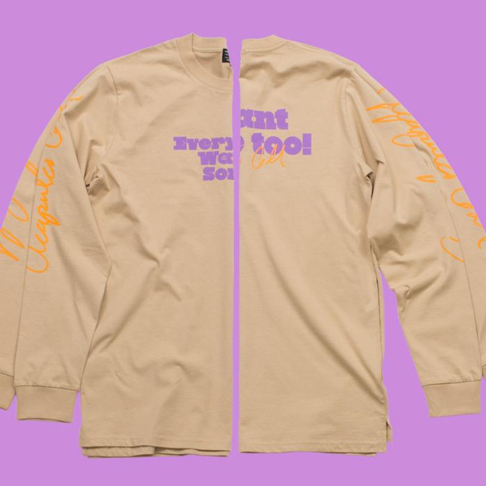 画像1: Want Some L/S Tee Tシャツ ロンT  (1)