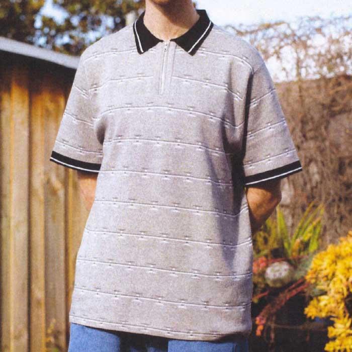画像1: Razor S/S Zip Polo Shirts 半袖 ジップ ポロ シャツ  (1)