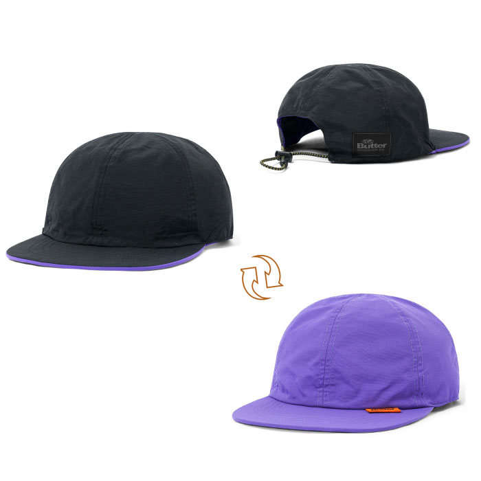 画像1: Reversible 6 Panel Cap リバーシブル キャップ 帽子  (1)