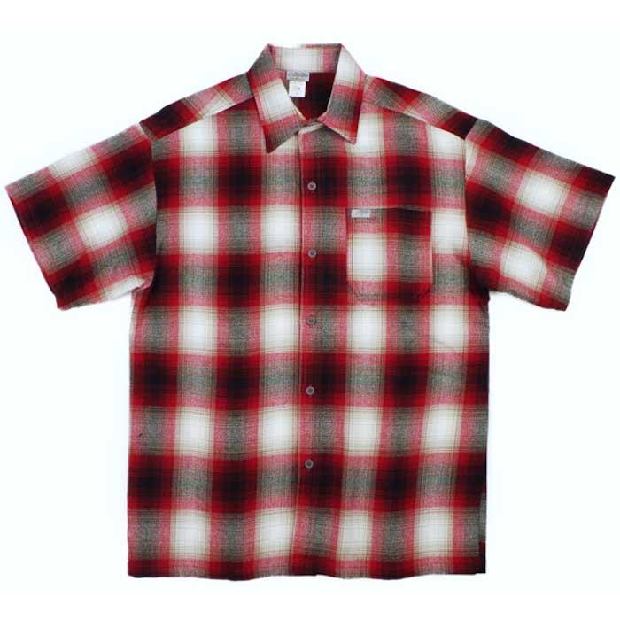 画像1: Ombre S/S Check Shirt 半袖 オンブレ チェック シャツ  (1)