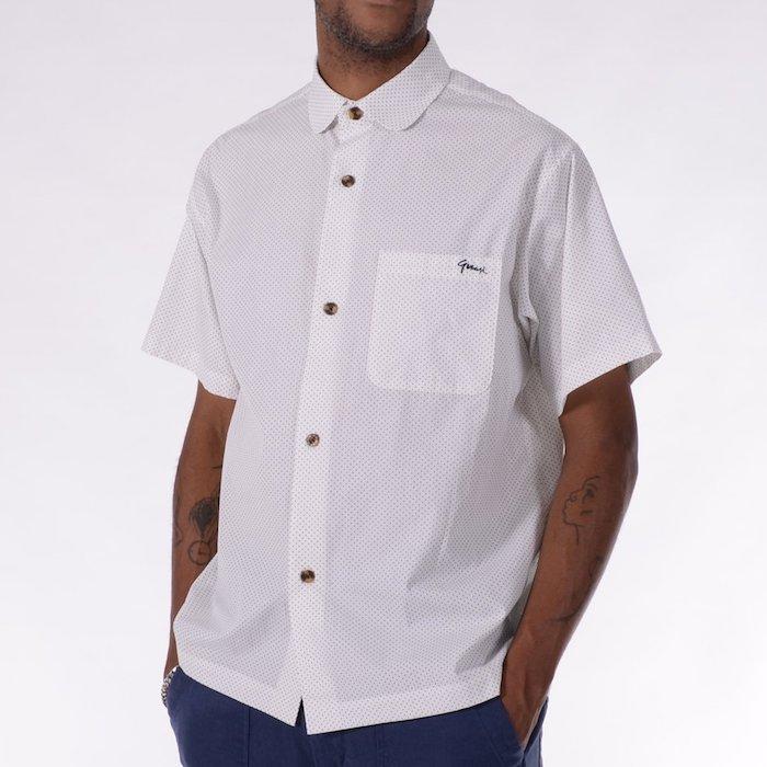 画像1: P Dot S/S Button Up Shirt 半袖 シャツ ドット  (1)