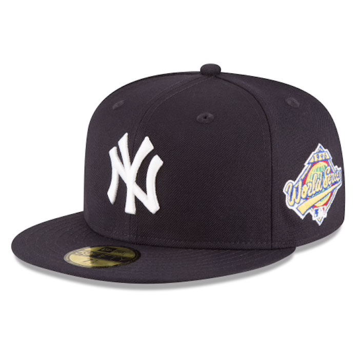 画像1: 59Fifty NewYork Yankees World Series 1996 ニューヨーク ヤンキース Authentic Collection ワールド シリーズ キャップ MLB 公式 Official (1)