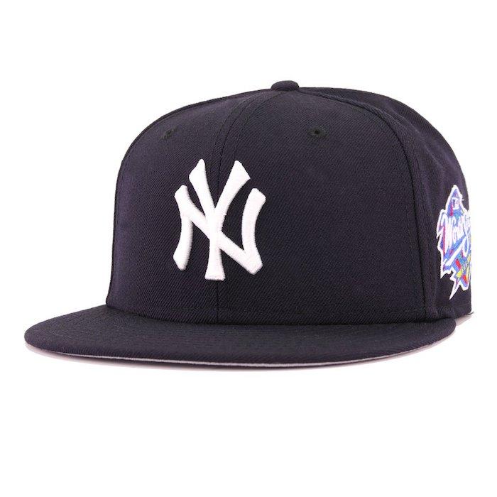 画像1: 59Fifty NewYork Yankees World Series 1998 ニューヨーク ヤンキース Authentic Collection ワールド シリーズ キャップ MLB 公式 Official (1)