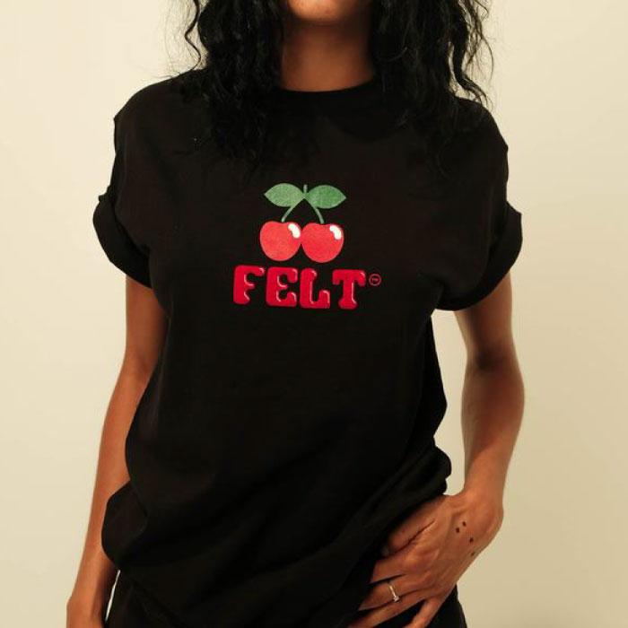 画像1: Ibiza S/S Tee Black ブラック 半袖 Tシャツ Cherry Logo ロゴ (1)