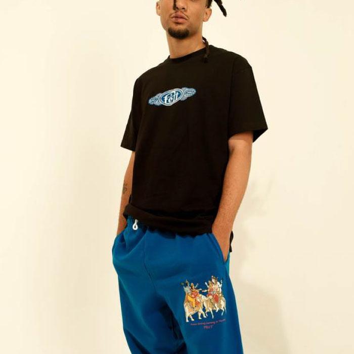 画像1: Blues S/S Tee Black ブラック 半袖 Tシャツ (1)