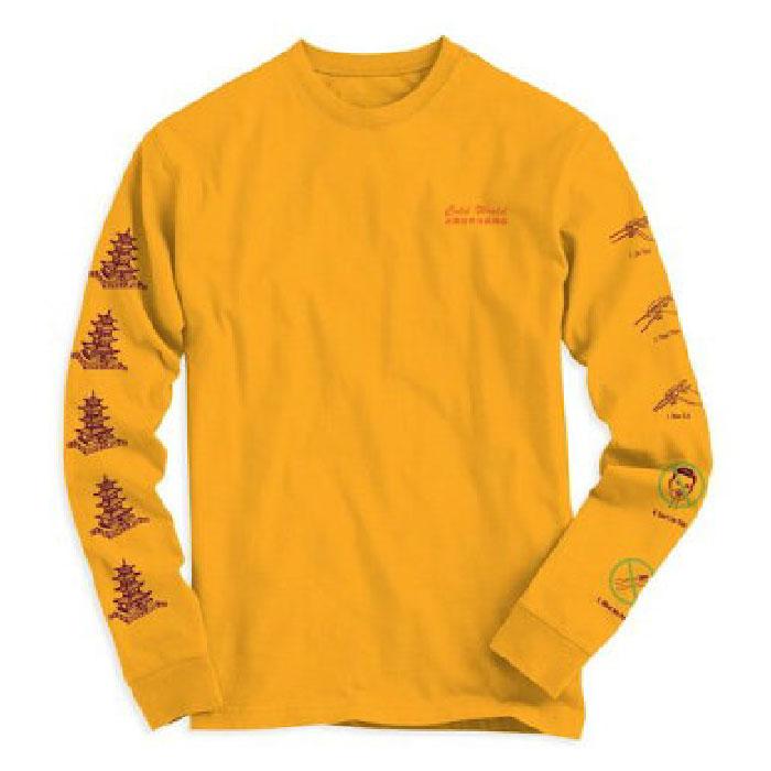 画像1: Take Out Gold L/S tee Long Sleeve ロンT Tシャツ (1)