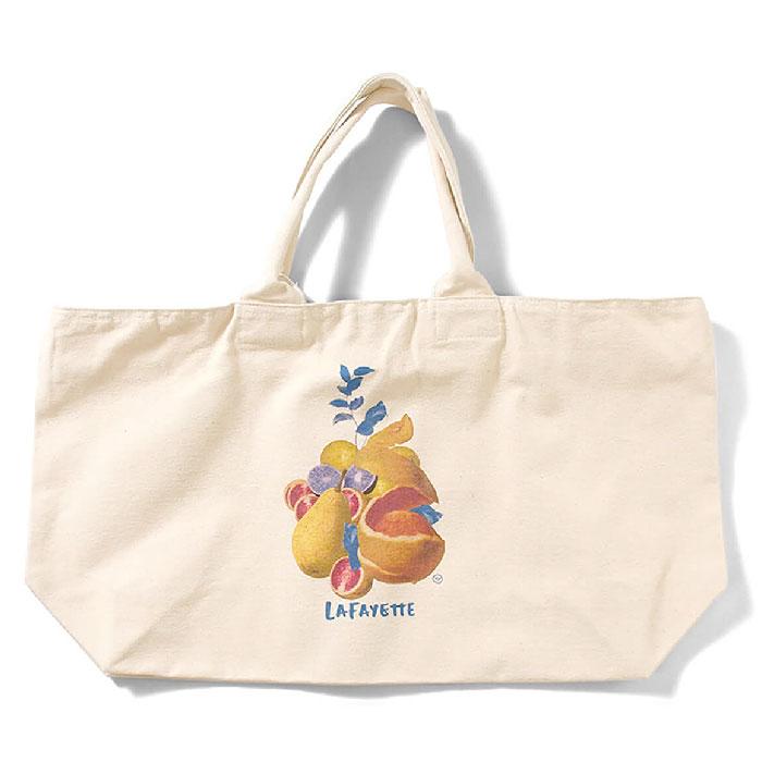 画像1: × Takayuki Yamada Fruit Tote Bag トート バック by Lafayette ラファイエット  (1)