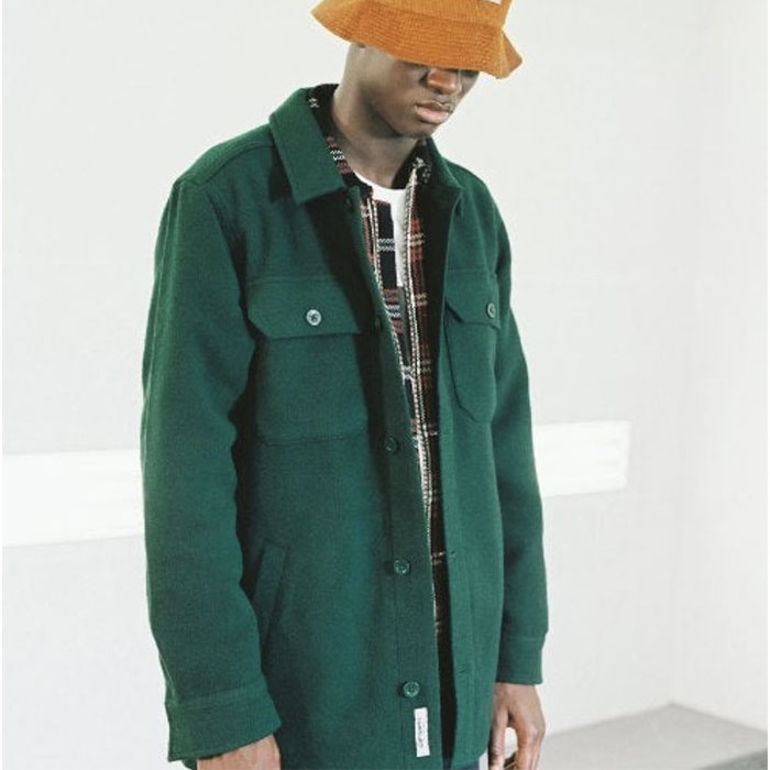 画像1: Owen Shirt Jacket シャツ ジャケット  (1)