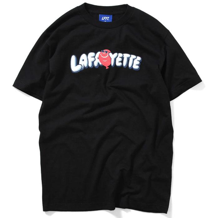 画像1: Balloon Logo S/S Tee 半袖 Tシャツ by Lafayette ラファイエット  (1)
