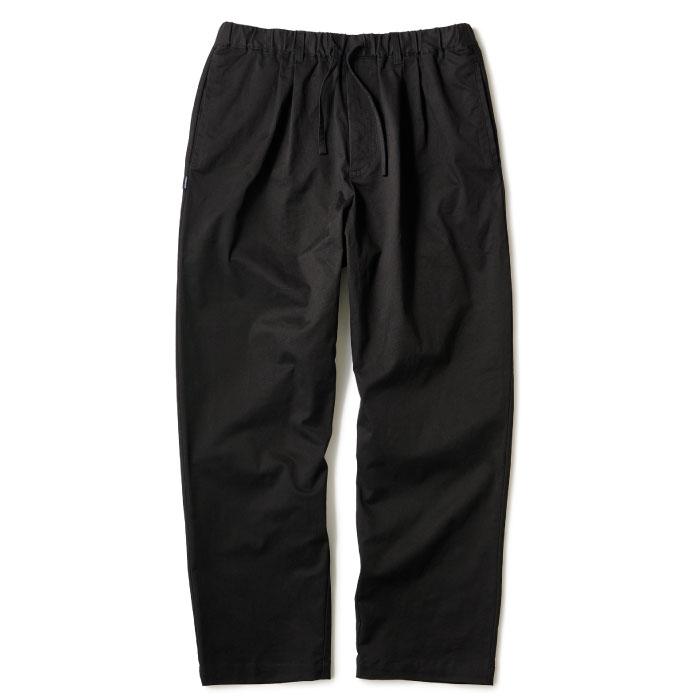 画像1: Relaxed Chino Trouser Pants チノ イージー パンツ タック パンツ Black Beige  (1)