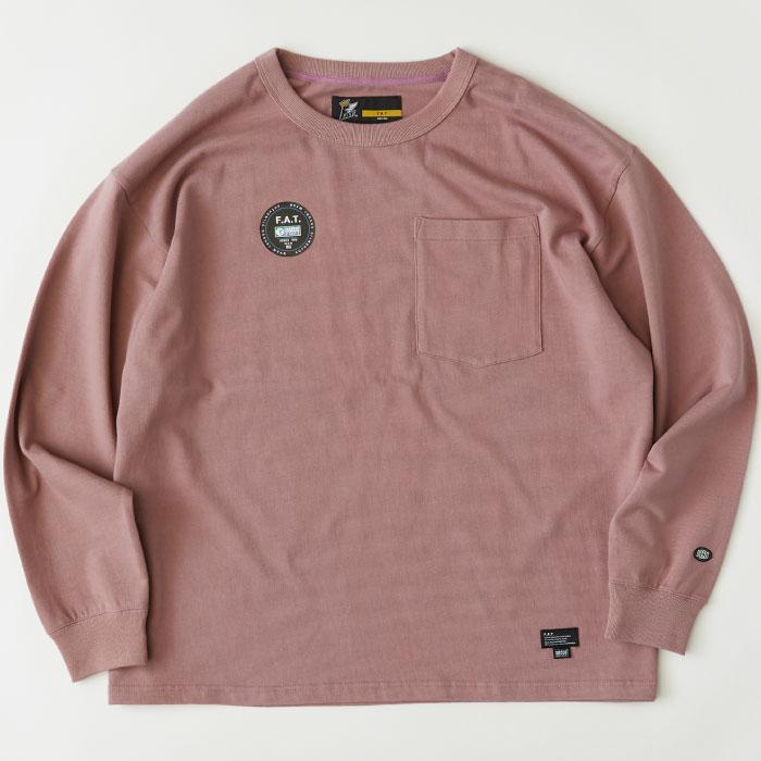 画像1: × DISCUS Teescus L/S Pocket Tee ロング スリーブ ポケット 長袖 Tシャツ US COTTON 8.0oz ヘビー オンス (1)