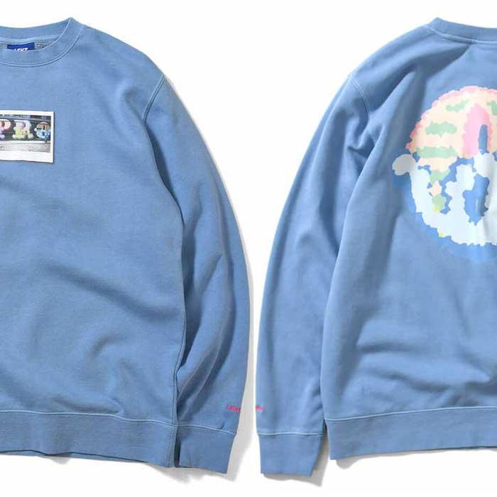 画像1: × dee Pro Crewneck Sweatshirt ディー クルー ネック スウェット Blue ブルー by Lafayette ラファイエット  (1)