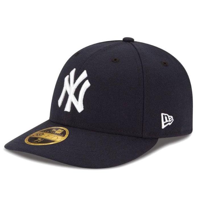 画像1: LP 59Fifty New York Yankees cap MLB ニューヨーク・ヤンキース ゲーム オンフィールド Classic クラシック MLB 公式 Official (1)