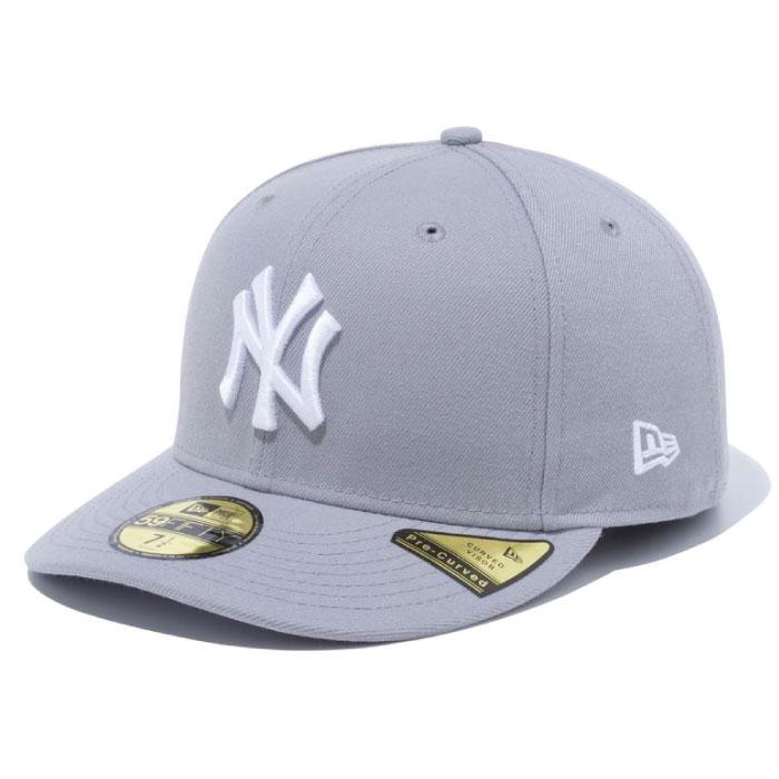 画像1: PC 59Fifty New York Yankees cap Grey MLB ニューヨーク・ヤンキース Classic クラシック カラー MLB 公式 Official (1)